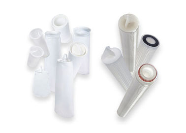 6.5kg  0.22um Water Filter Cartridges  284kpa Pressure Resistance Widely Chemical Compatibility